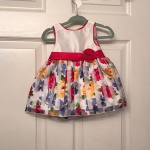 Other - Floral baby dress - 6m